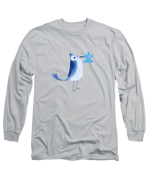 The Letter Blue J Long Sleeve T-Shirt