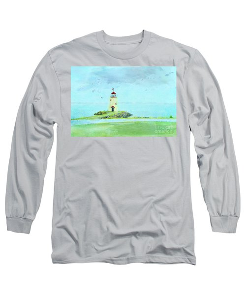 The Little Lighthouse That Could Long Sleeve T-Shirt