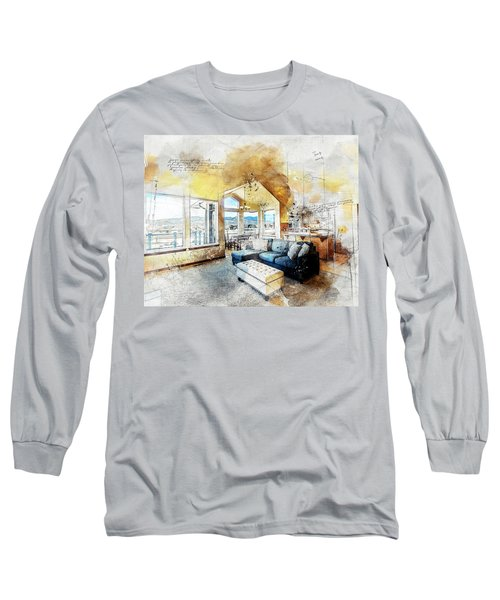 The Living Room Long Sleeve T-Shirt
