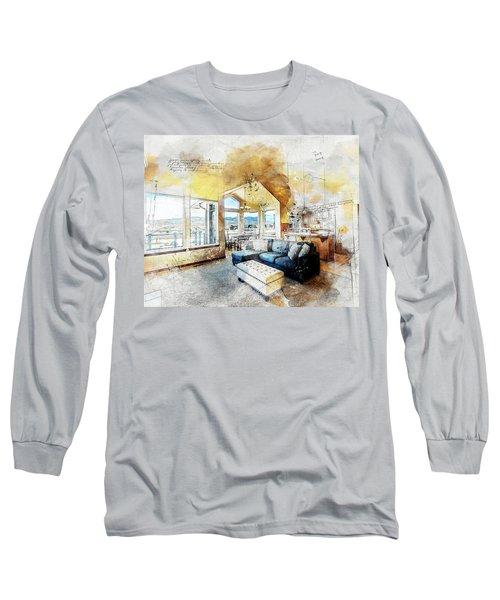 The Living Room Long Sleeve T-Shirt