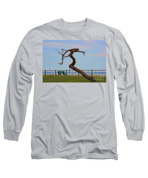The Lone Tree Long Sleeve T-Shirt by Roberta Byram