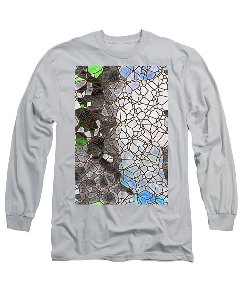 Long Sleeve T-Shirt featuring the digital art The Lovely Spider by Wendy J St Christopher