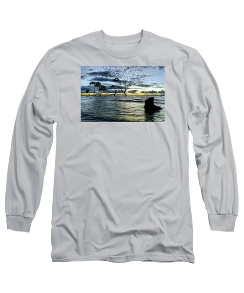 The Mangrove Trees Long Sleeve T-Shirt by Robert Charity