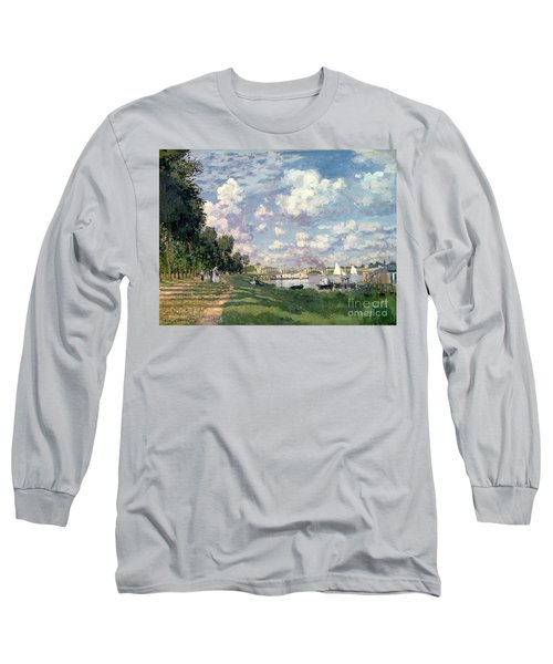 The Marina At Argenteuil Long Sleeve T-Shirt