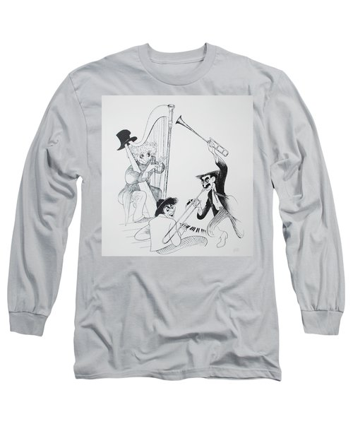 The Marx Brothers O Long Sleeve T-Shirt