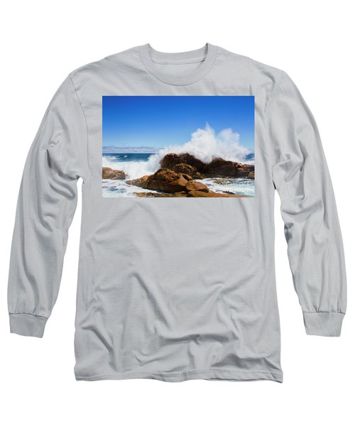 The Might Of The Ocean Long Sleeve T-Shirt