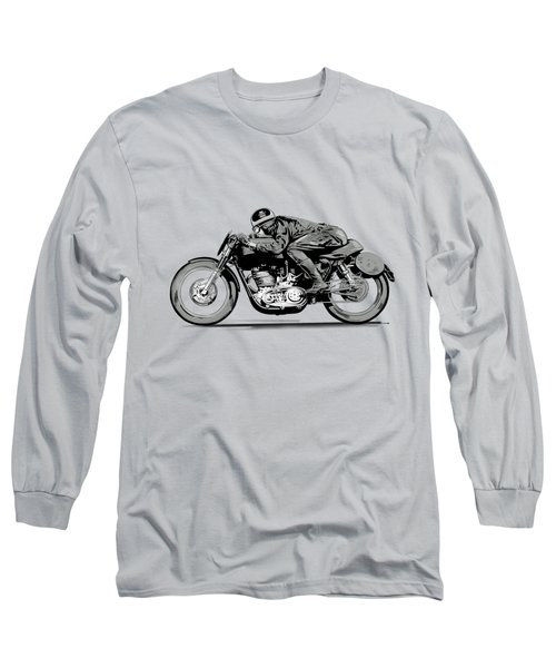 The Motorcycle Dust Devil Long Sleeve T-Shirt