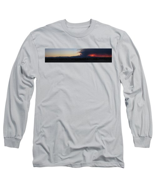 The Mount Charleston Fire Long Sleeve T-Shirt