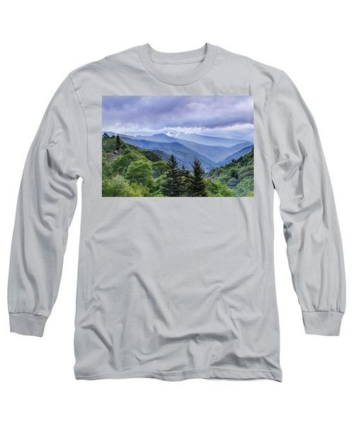 The Mountains Of Great Smoky Mountains National Park Long Sleeve T-Shirt