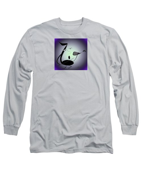 The Musician 29 Long Sleeve T-Shirt by Iris Gelbart