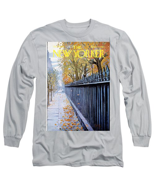 The New Yorker Cover - October 19th, 1968 Long Sleeve T-Shirt