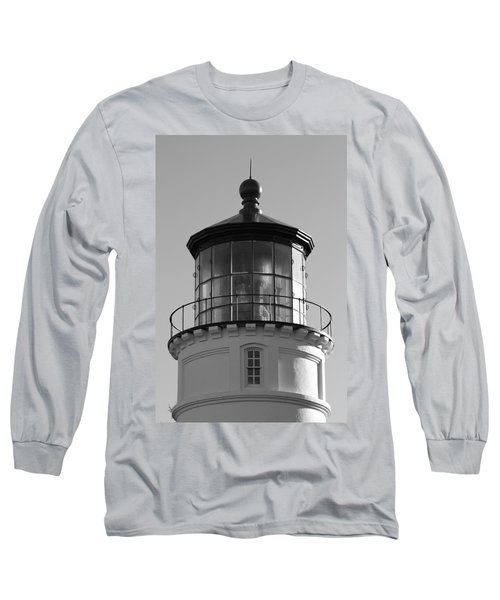 Long Sleeve T-Shirt featuring the photograph The Night Light by Laddie Halupa