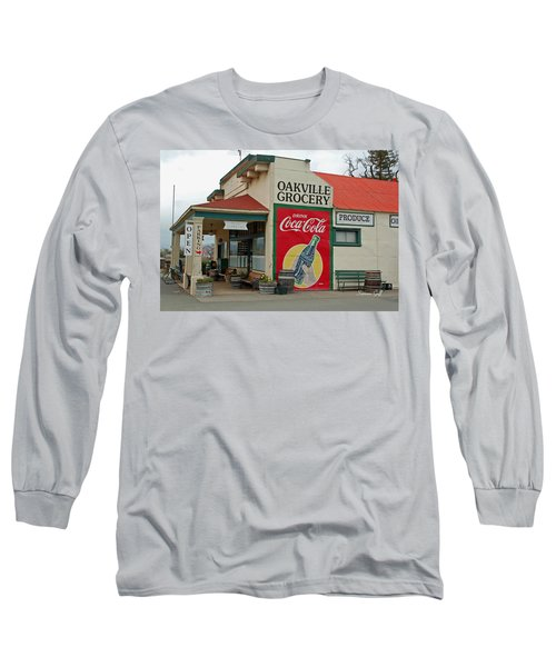 The Oakville Grocery Long Sleeve T-Shirt by Suzanne Gaff