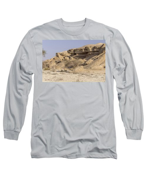 Long Sleeve T-Shirt featuring the photograph The Old Gatekeeper 03 by Arik Baltinester