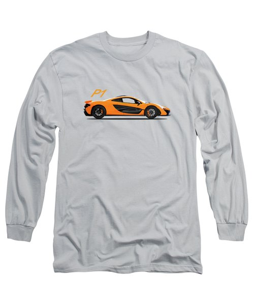 The P1 Supercar Long Sleeve T-Shirt