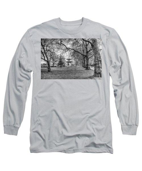 The Pagoda Battersea Park London Long Sleeve T-Shirt