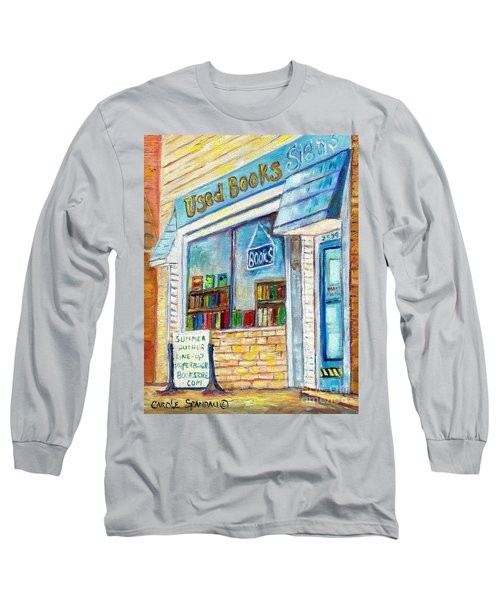 The Paperbacks Plus Book Store St Paul Minnesota Long Sleeve T-Shirt
