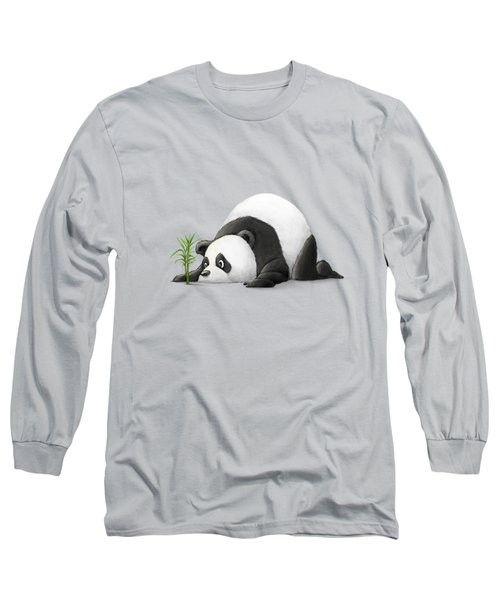 The Patient Panda Long Sleeve T-Shirt