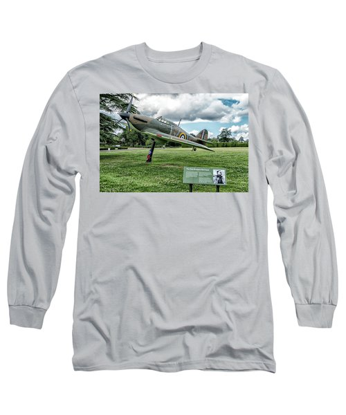 Long Sleeve T-Shirt featuring the photograph The Pete Brothers Hurricane by Alan Toepfer
