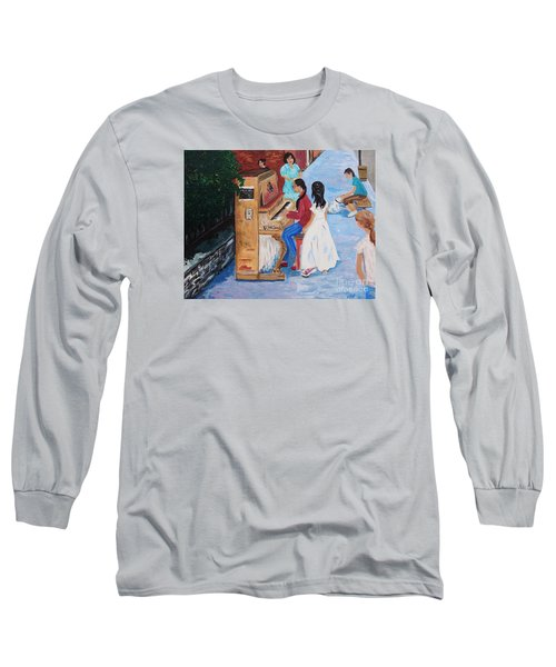 The Piano Player Long Sleeve T-Shirt