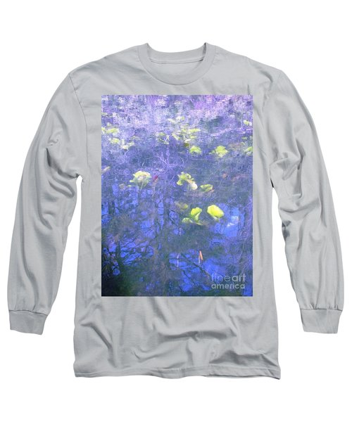 Long Sleeve T-Shirt featuring the photograph The Pond 1 by Melissa Stoudt