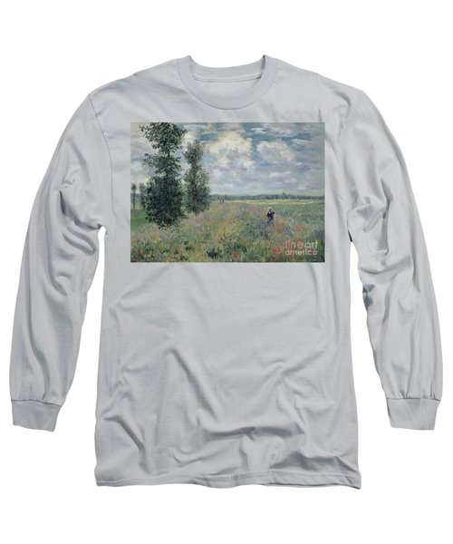 The Poppy Field Long Sleeve T-Shirt