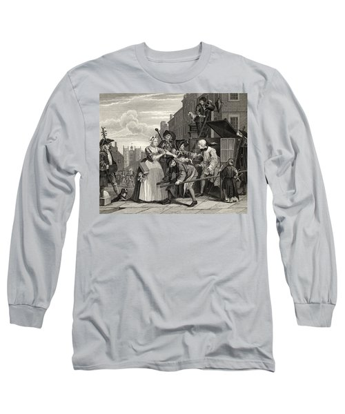 The Rakes Progress Arrested For Debt As Long Sleeve T-Shirt