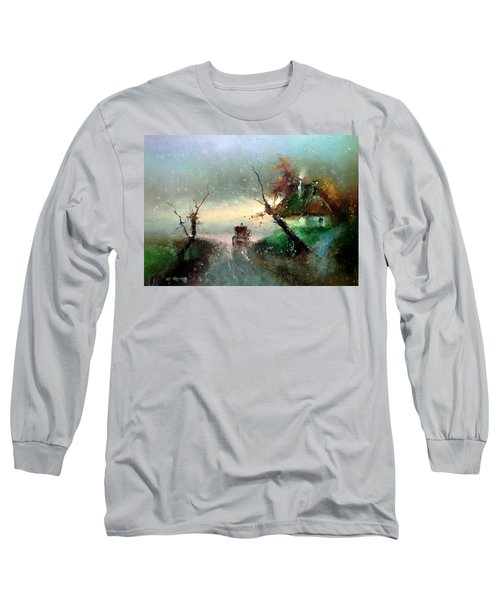 The Rays Of The Morning Sun Long Sleeve T-Shirt