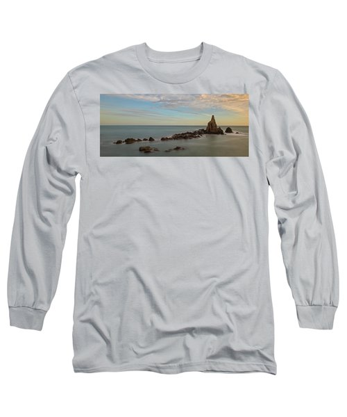 The Reef Of The Cape Sirens At Sunset Long Sleeve T-Shirt