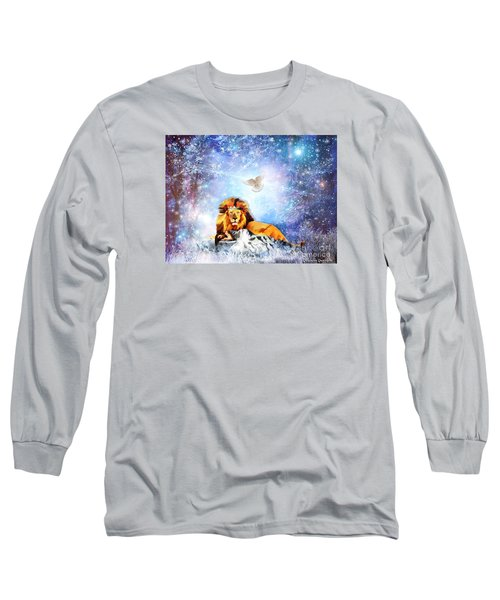 The Resting Place Long Sleeve T-Shirt by Dolores Develde