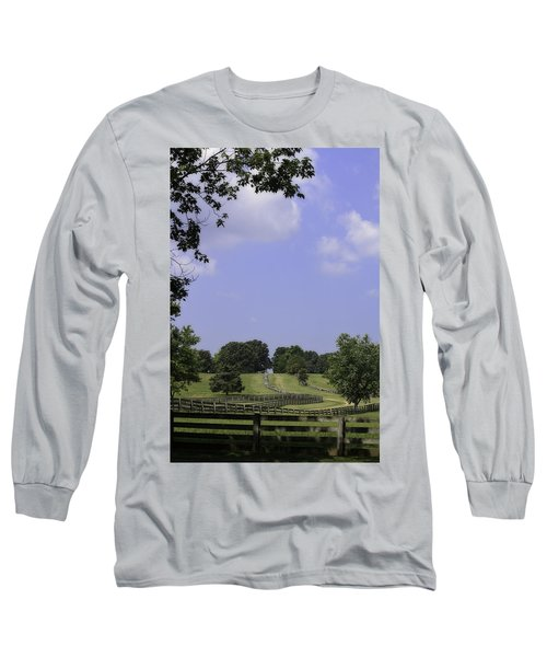 The Road To Lynchburg From Appomattox Virginia Long Sleeve T-Shirt