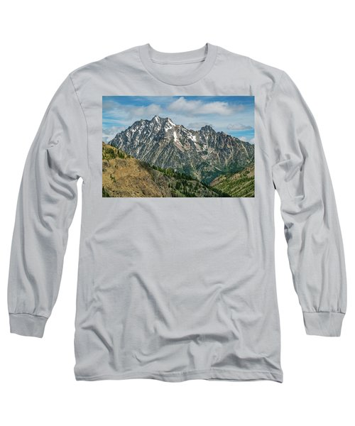 The Rock At Mount Stuart Long Sleeve T-Shirt by Ken Stanback