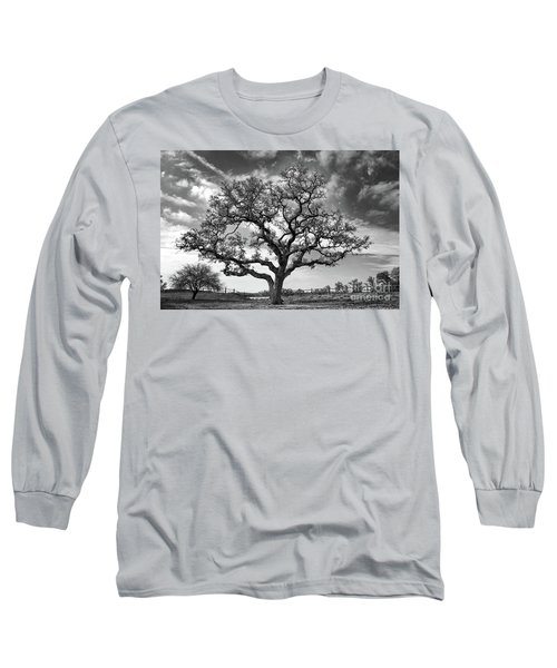 The Sentinel Bw Long Sleeve T-Shirt