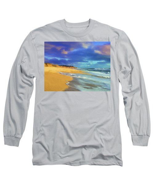 The Shoreline At Half Moon Bay Long Sleeve T-Shirt