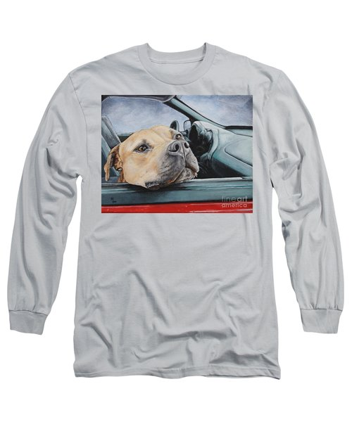 The Smell Of Freedom Long Sleeve T-Shirt by Mary-Lee Sanders