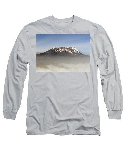 The Snows Of Kilimanjaro Long Sleeve T-Shirt by Patrick Kain