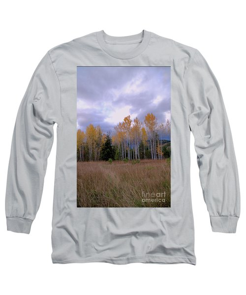 The  Song Of The Aspens 2 Long Sleeve T-Shirt by Victor K
