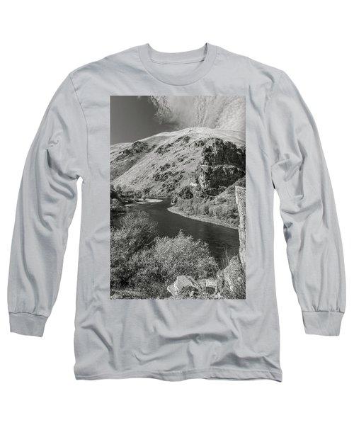 South Fork Boise River 3 Long Sleeve T-Shirt