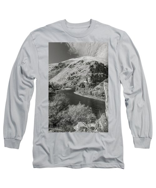 South Fork Boise River 3 Long Sleeve T-Shirt
