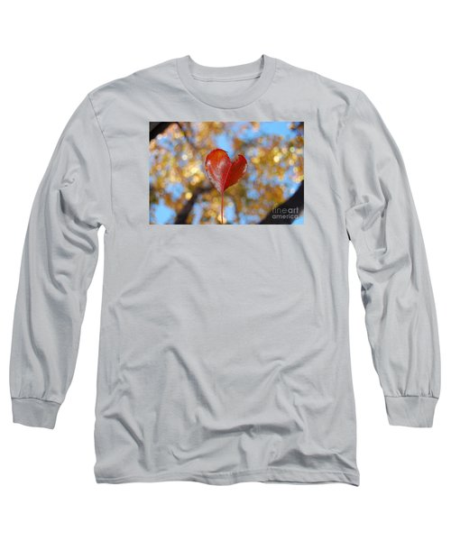 Long Sleeve T-Shirt featuring the photograph The Splendor Of Fall by Debra Thompson