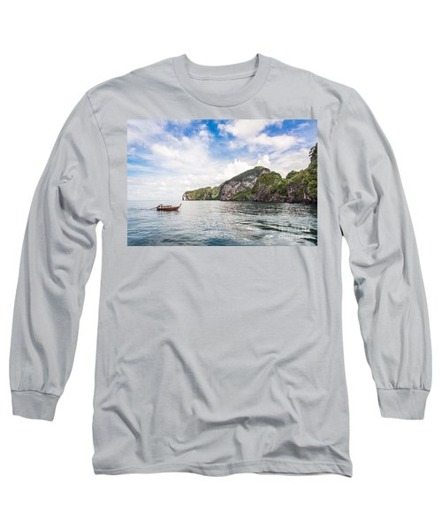 The Stunning  Koh Mook In The Trang Island Long Sleeve T-Shirt