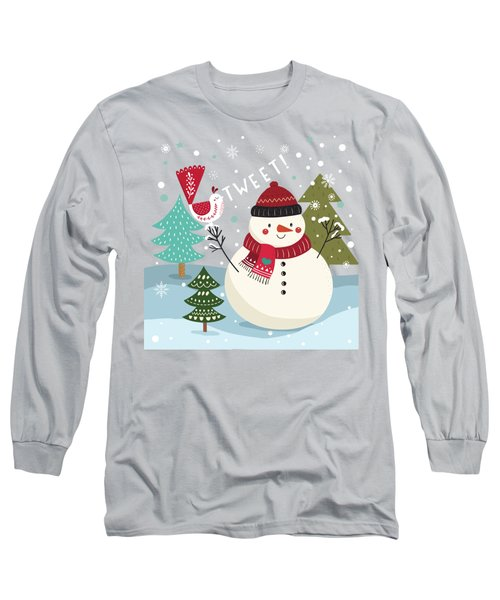 The Sweet Song Of Winter Long Sleeve T-Shirt