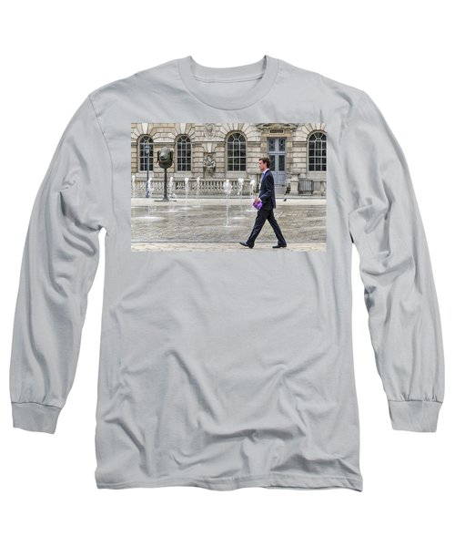 Long Sleeve T-Shirt featuring the photograph The Tax Man by Keith Armstrong