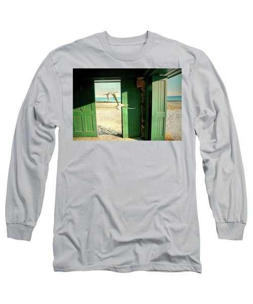 Long Sleeve T-Shirt featuring the photograph The Thruway by Diana Angstadt