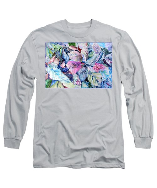 The Touch Of Silence Long Sleeve T-Shirt by Mindy Newman