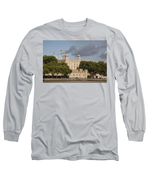 Long Sleeve T-Shirt featuring the photograph The Tower Of London. by Christopher Rowlands