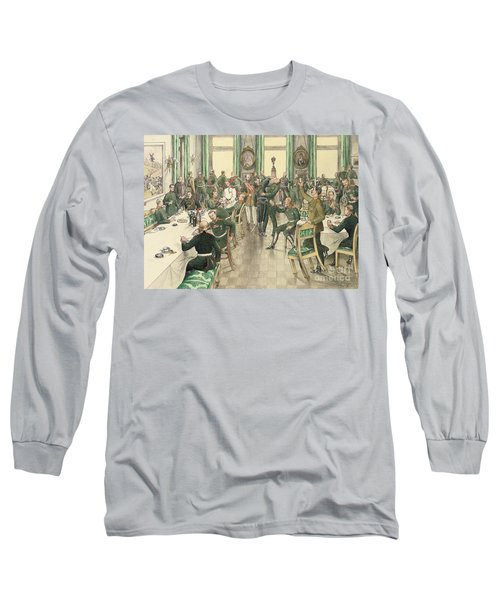 The Traditional Breakfast Held To Commemorate The Battle Of Telish Long Sleeve T-Shirt