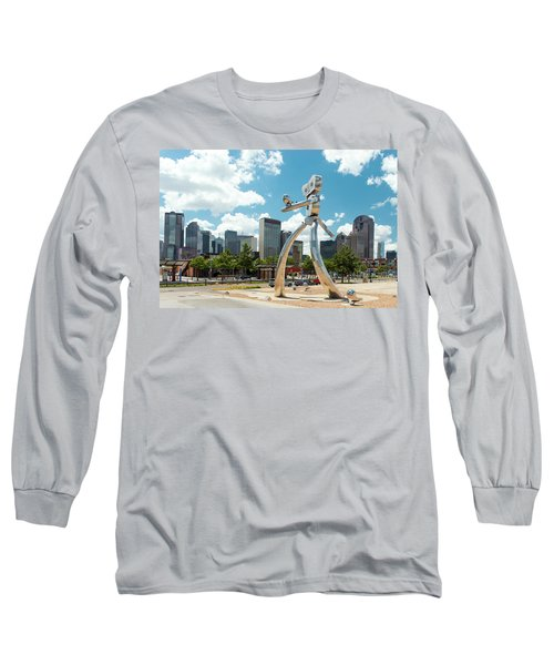 The Traveling Man Dallas 080618 Long Sleeve T-Shirt