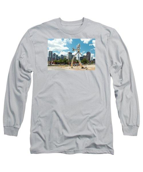 The Traveling Man Dallas 080618 Long Sleeve T-Shirt