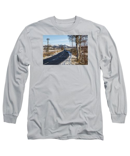 The Trossachs National Park In Scotland Long Sleeve T-Shirt